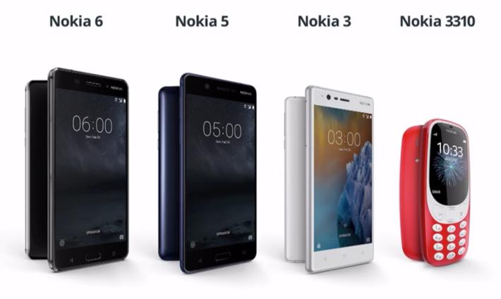 Nokia 5 y el Nokia 3