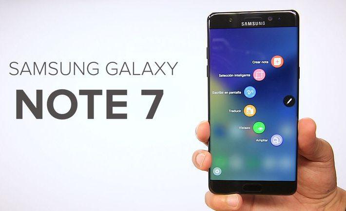 Note 7 Samsung