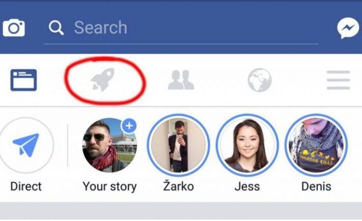 Facebook cohete