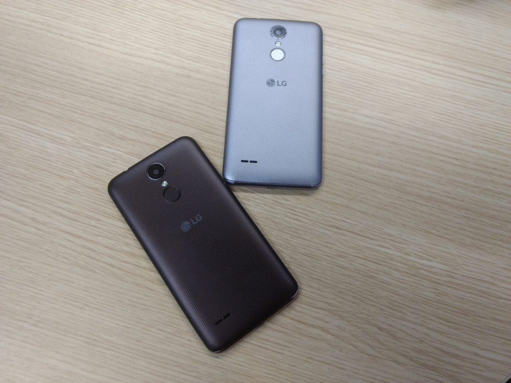 LG K4 y LG K8
