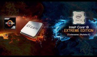 Core i9 y Threadripper de Ryzen