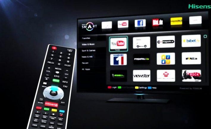 Slim y Hisense instalarán Claro Vídeo en Smart TVs