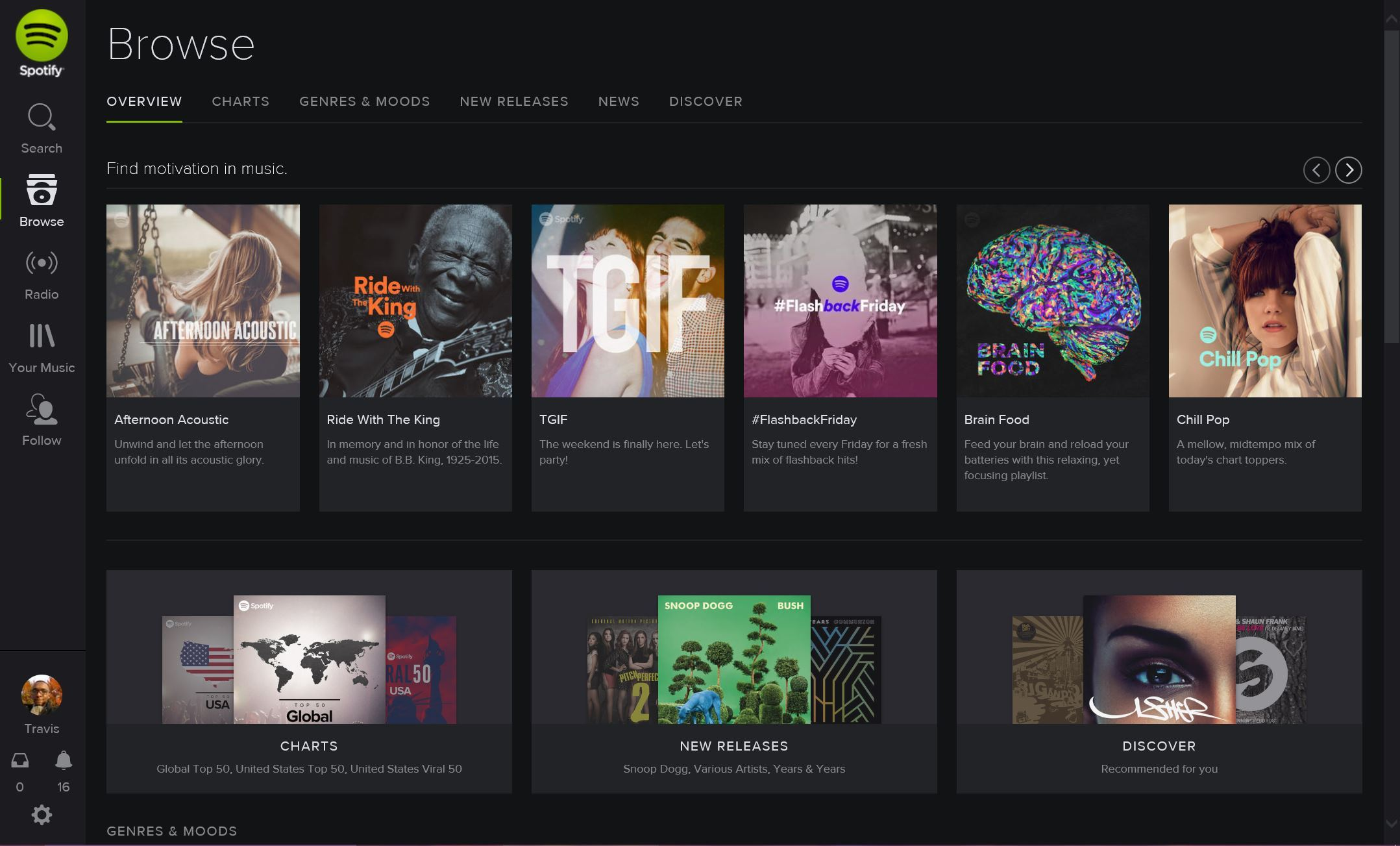 Spotify enWindows Store
