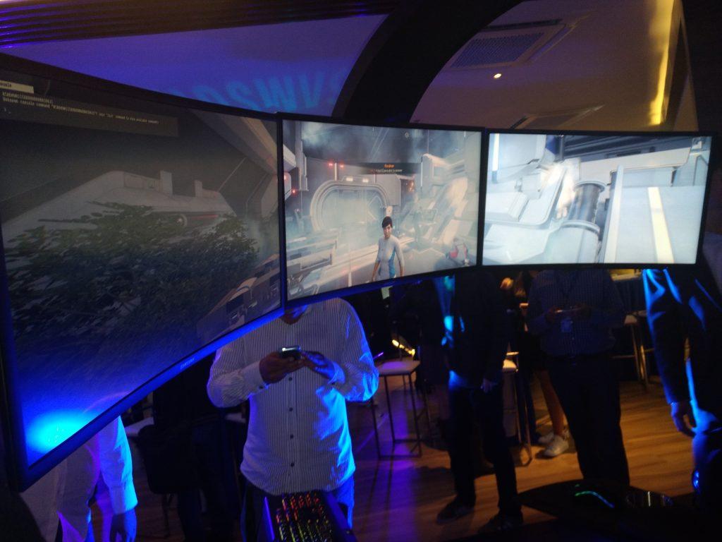 Presentación de los monitores Curved Gaming Monitors de Samsung