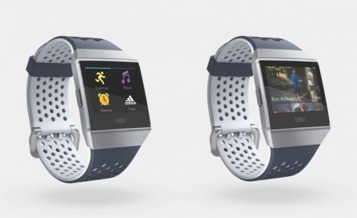 Resultado de imagen para Fitbit Ionic:adidas edition